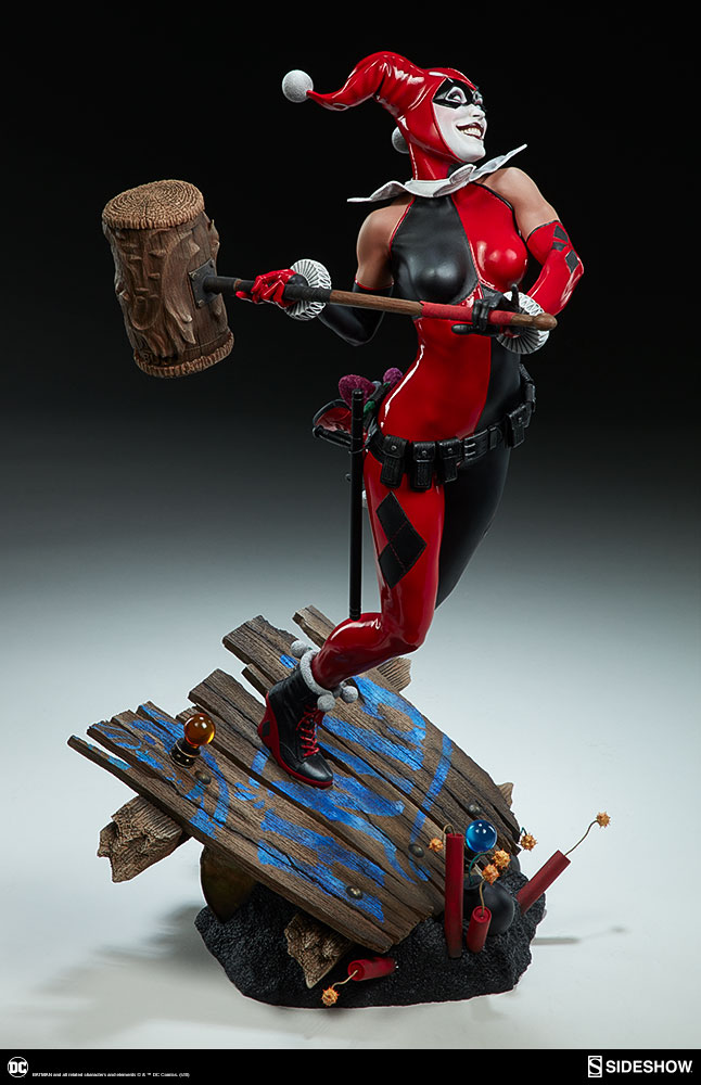 dc-comics-harley-quinn-premium-format-figure-sideshow-300474-11 Figurine – DC Comics Harley Quinn Premium Format