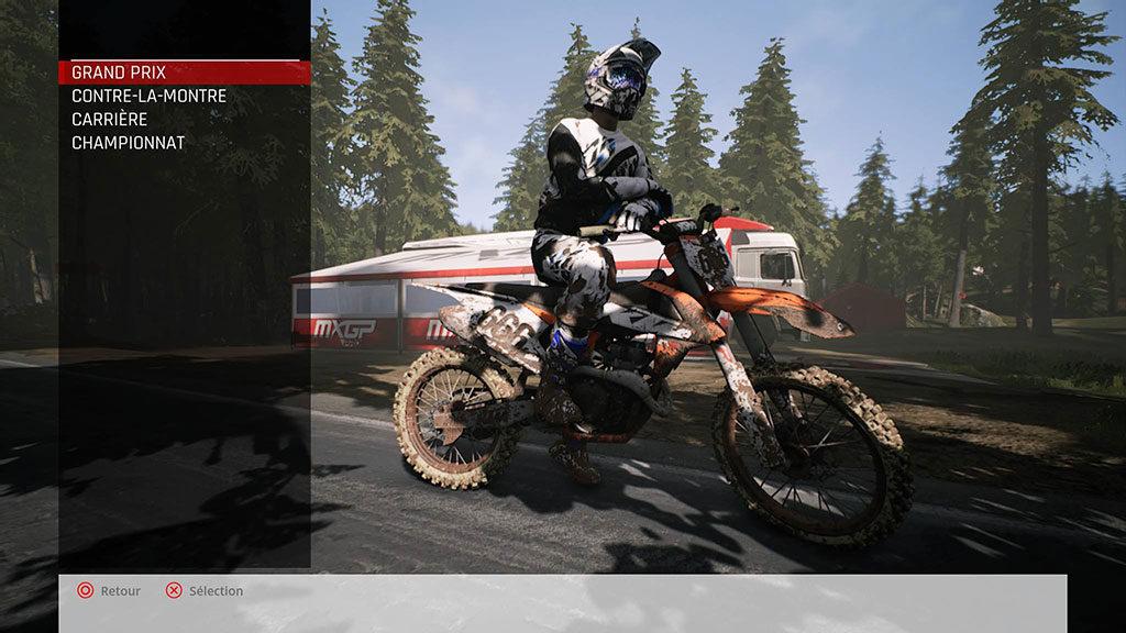 MXGP_MenuSolo-1024x576 Mon avis sur MXGP Pro - La boue, ça colle mais c'est fun !
