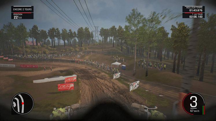 MXGP_VueCasque-747x420 Mon avis sur MXGP Pro - La boue, ça colle mais c'est fun !