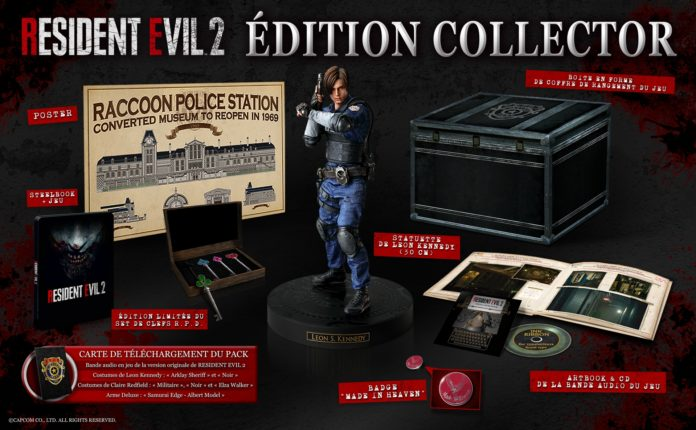 RE2-Edition-Collector-BEAUTYSHOT-FR-SD-696x430 Resident Evil 2 - Les éditions Collector