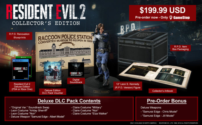 resident-evil-2-collector-696x430 Resident Evil 2 - Les éditions Collector
