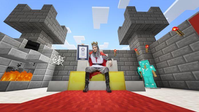 GWR-La-construction-de-château-la-plus-rapide-dans-le-mode-créatif-de-Minecraft-©Paul-Michael-HughesGuinness-World-Records_696x392-696x392 Découvrez quelques records du GUINNESS WORLD RECORDS® Gaming Edition 2019