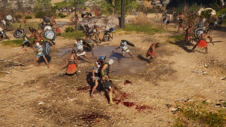 ACO_BatailleConquete-747x420 Mon avis sur Assassin's Creed Odyssey - Un voyage dans le pays des mythes et légendes