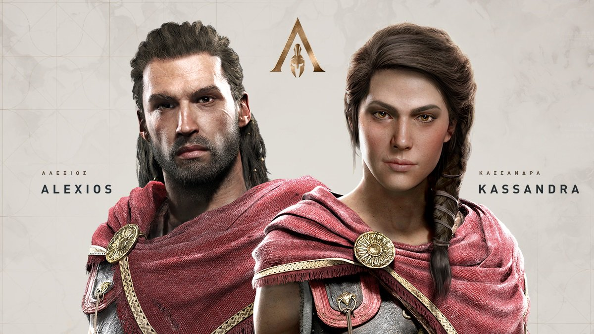 ACO_Personnage Mon avis sur Assassin's Creed Odyssey - Un voyage dans le pays des mythes et légendes
