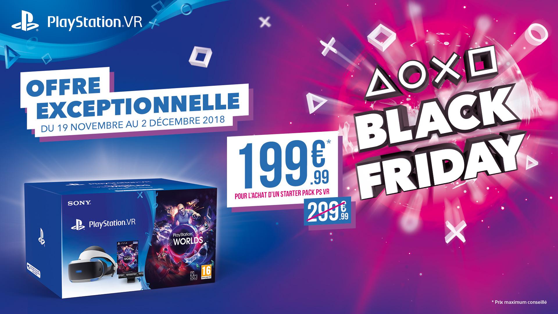 PlayStation-VR-Black-Friday-2018 Black Friday 2018 - Les offres Playstation