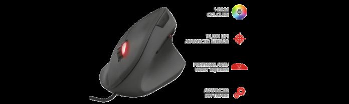 Trust-Rexx-2-696x208 Trust Gaming présente REXX, une souris ergonomique & verticale inédite