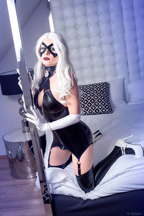 black-cat-boudoir-cosplay-04 Cosplay - DC Comics - Black Cat #160