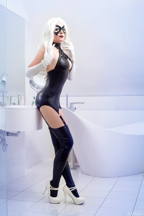 black-cat-boudoir-cosplay-07 Cosplay - DC Comics - Black Cat #160