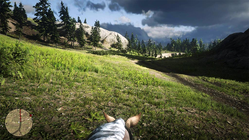 vue_cheval1 Mon avis sur Red Dead Redemption II - Paré pour la grande épopée ?