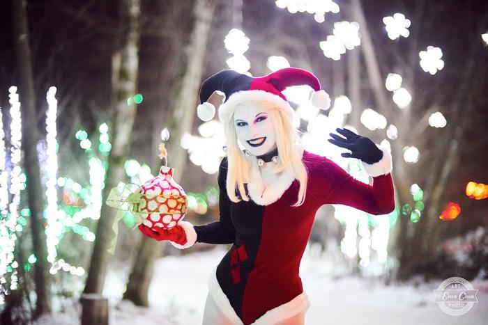 harley-quinn-xmas-cosplay-03 Cosplay - Harley Quinn - Winter Edition #166