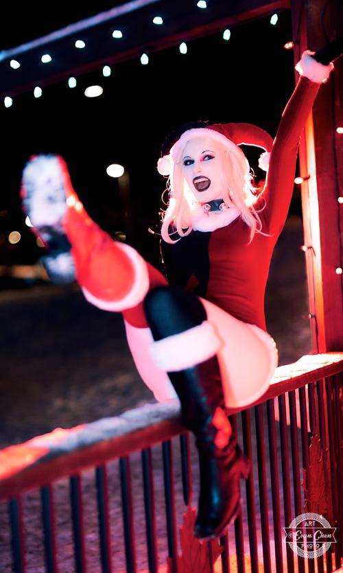 harley-quinn-xmas-cosplay-08 Cosplay - Harley Quinn - Winter Edition #166