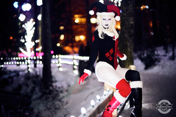 harley-quinn-xmas-cosplay-10 Cosplay - Harley Quinn - Winter Edition #166