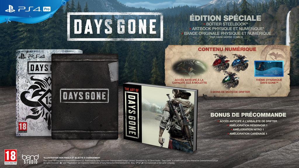 days_gone_special-1024x576 Days Gone - Les éditions Collector et Spéciales (Préco Ouvertes)