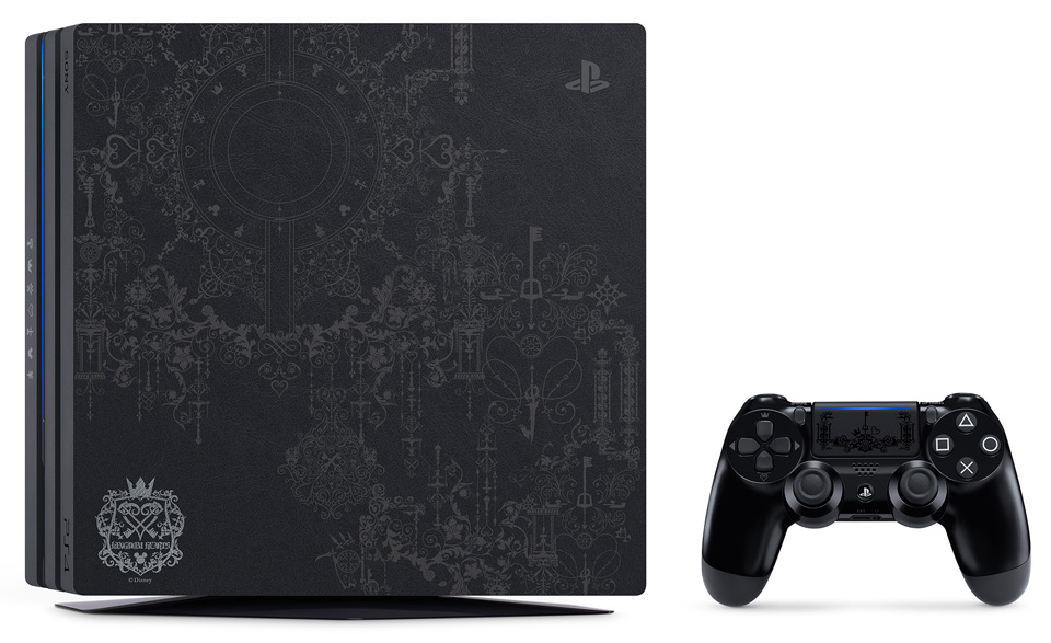 ps4-pro-édition-limitée-kingdom-hearts-III Bon Plan - Kingdom Hearts III à partir de 44.99€ & Console Collector