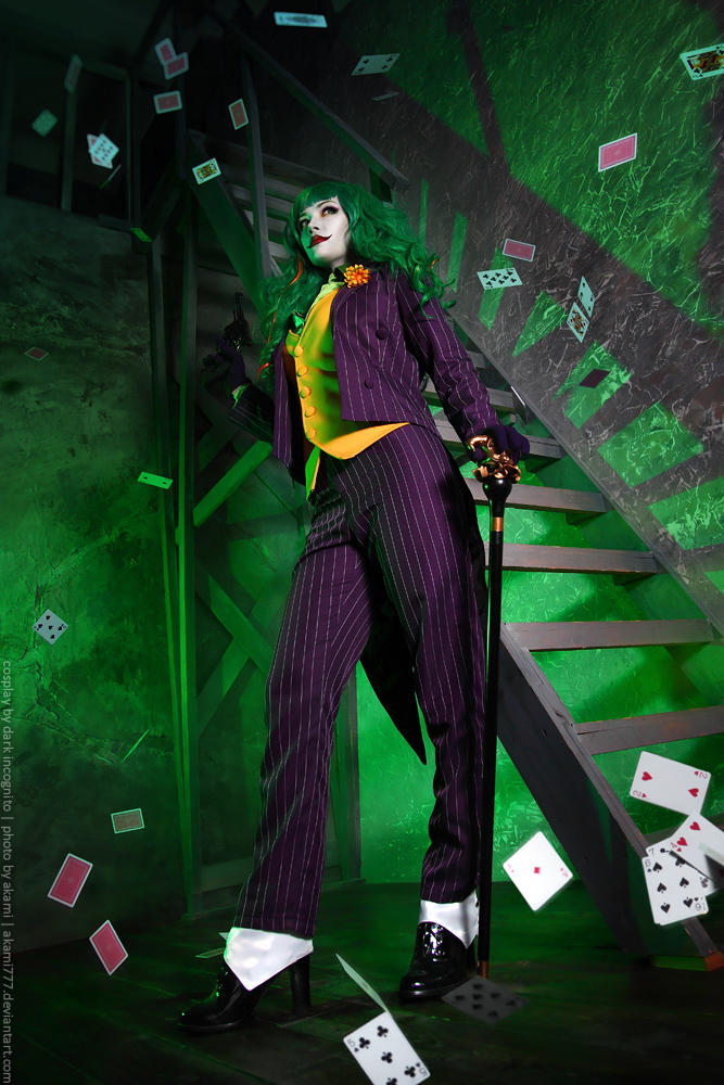 Female-Joker-cosplay-11-by-HydraEvil_499030574 Cosplay - The Joker - DC Comics #171