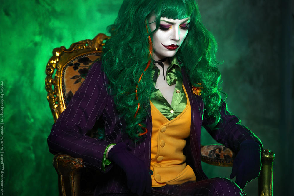 Female-Joker-cosplay-4-by-HydraEvil_499029767 Cosplay - The Joker - DC Comics #171