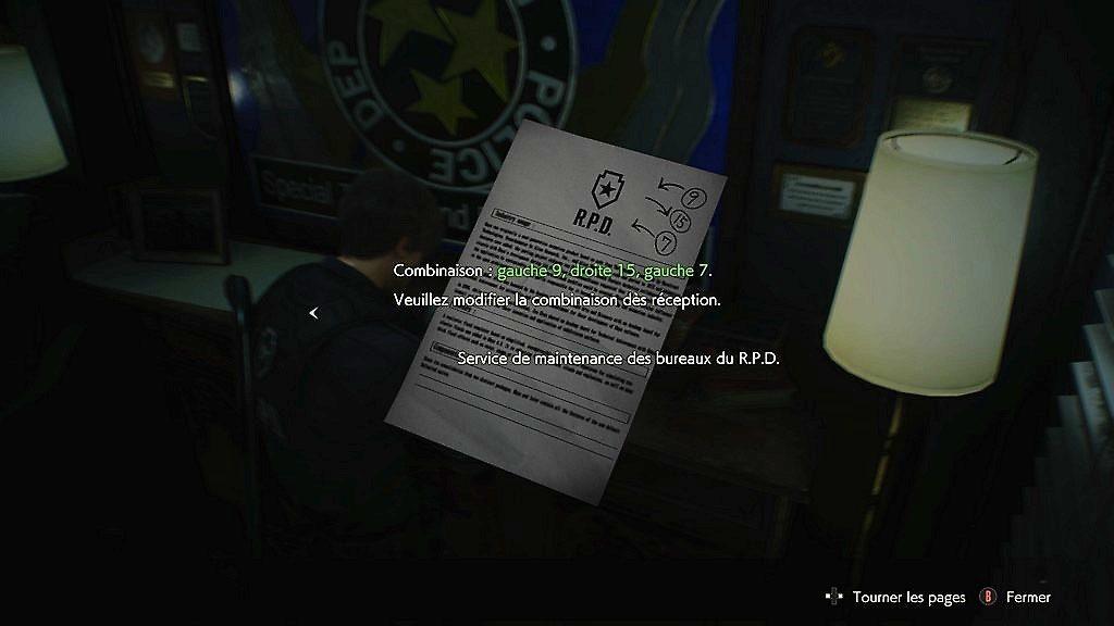 RE2_DocumentIndice-1024x576 Mon avis sur Resident Evil 2 Remake - Le cauchemar renaît
