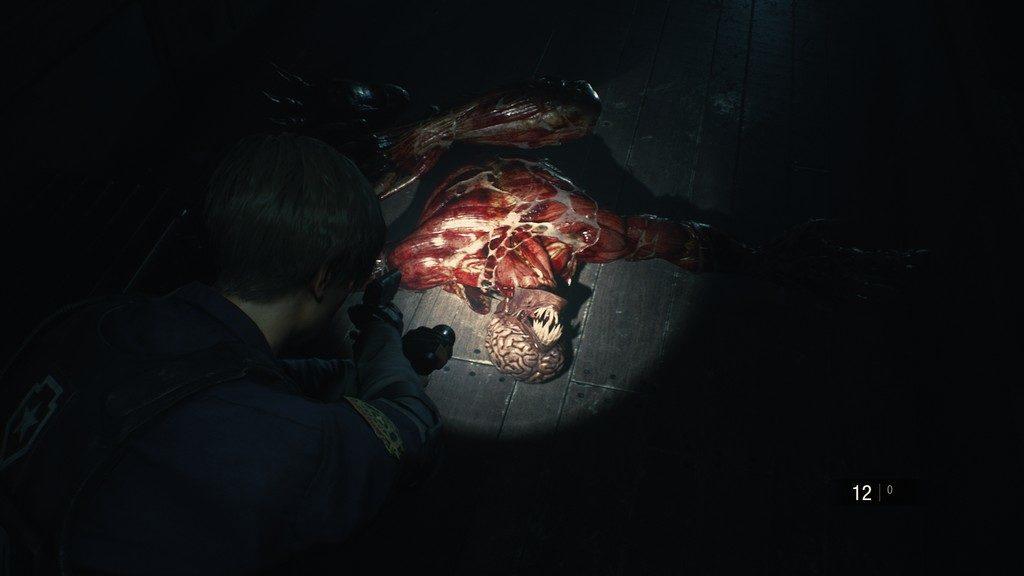 RE2_Licker-1024x576 Mon avis sur Resident Evil 2 Remake - Le cauchemar renaît
