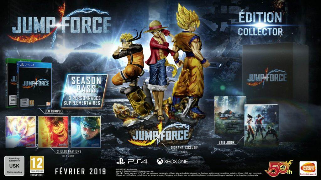 jumpforce_collector-1024x576 Les sorties du mois de Février 2019