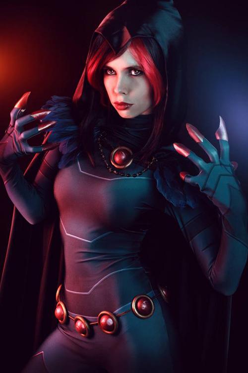 raven-rebirth-cosplay-04 Cosplay - Raven - DC Comic Rebirth #172