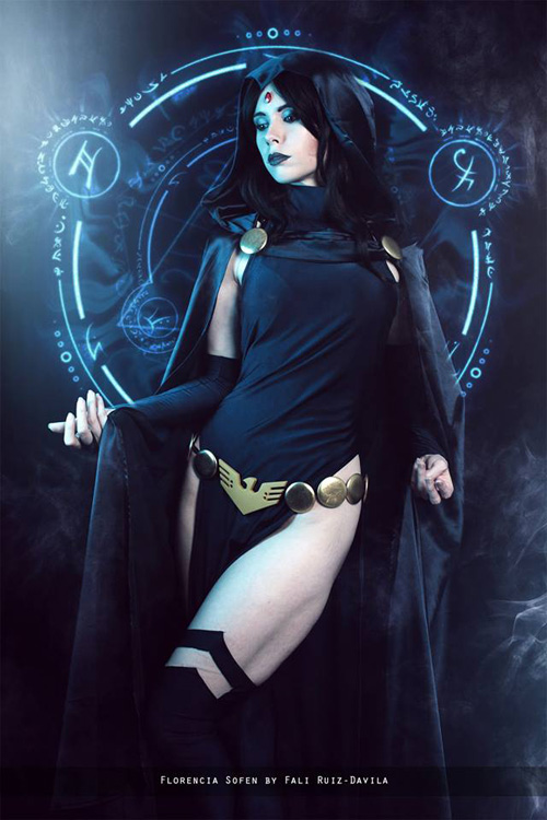 raven-cosplay-01 Cosplay – Raven – DC Comics #180