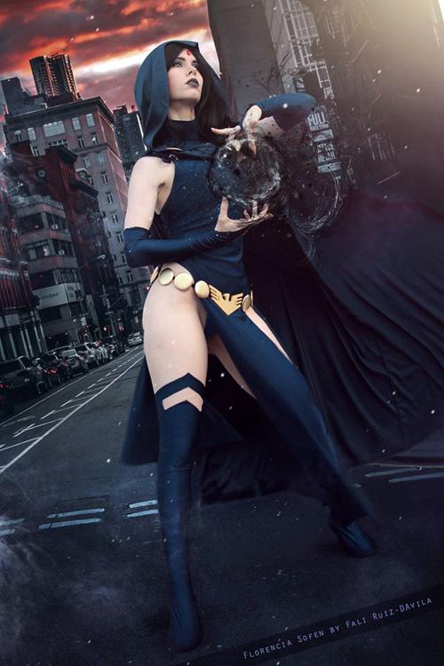 raven-cosplay-02 Cosplay – Raven – DC Comics #180