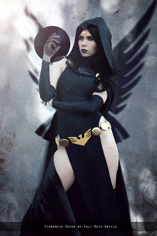 raven-cosplay-03 Cosplay – Raven – DC Comics #180