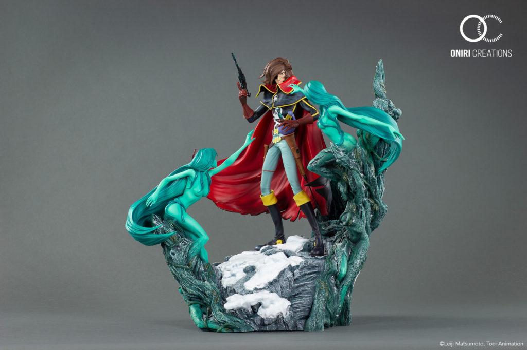 Albator-78-Captain-Harlock-Statue-Oniri-Creations1-1024x682 Oniri Créations et sa magnifique figurine Albator