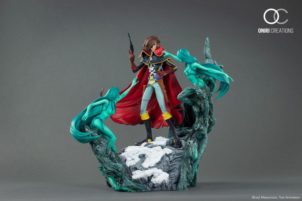 Albator-78-Captain-Harlock-Statue-Oniri-Creations2-1024x682 Oniri Créations et sa magnifique figurine Albator
