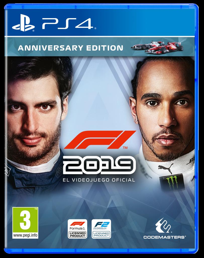 F12019_ANNIVERSARY_P4_2D_ESP-812x1024-812x1024 F1 2019 - Les différentes éditions