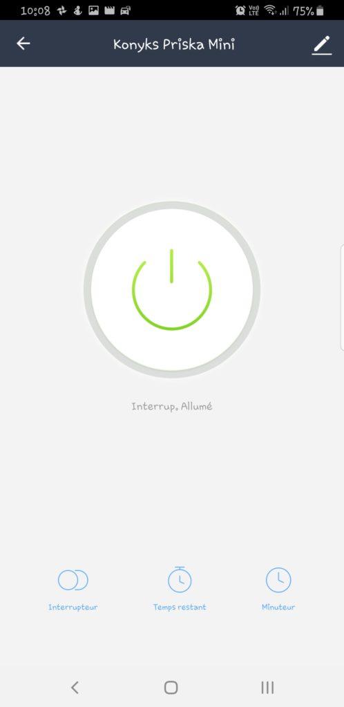 Screenshot_20190504-100838_Konyks-498x1024 Konyks - Présentation de la prise connectée Priska mini