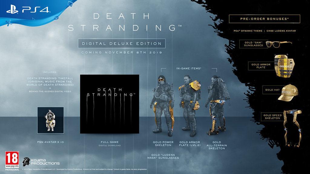 death-stranding-edition-digital-deluxe-1024x576 Death Stranding - Les éditions Spéciales et Collector - Sortie le 8 novembre