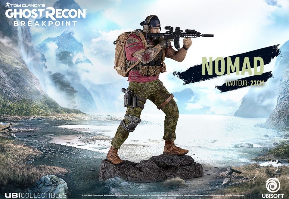 figurine-nomad-ghost-recon-breakpoint Ghost Recon Breakpoint - Les éditions spéciales et collector