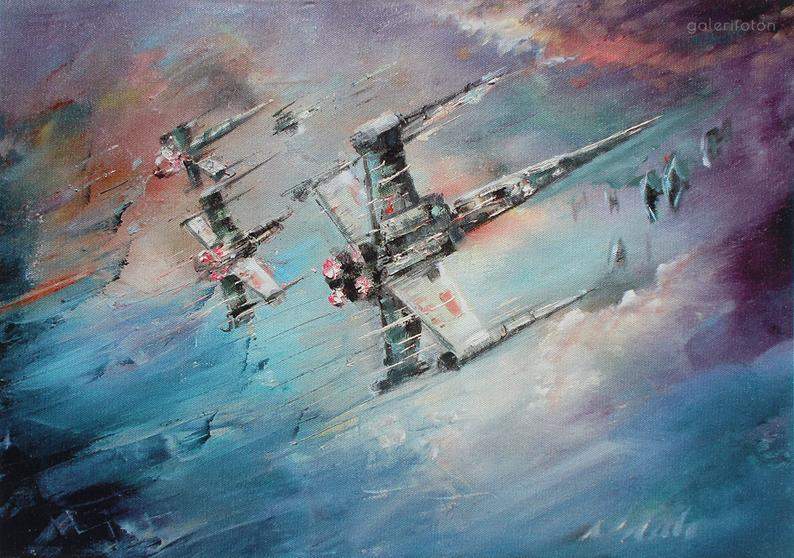 star-wars-paintings-12 May The 4th Be With You