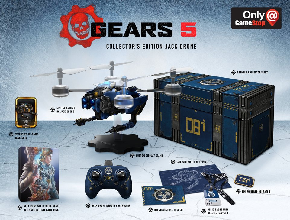 dition-collector-Gears-5 Gears 5 - Les éditions spéciales et collector