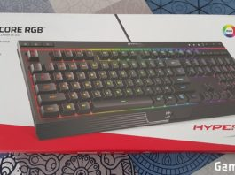 Test HyperX Alloy Core RGB