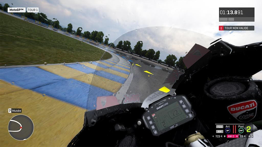 MotoGPvue2-1024x576 Mon avis sur Moto GP 19 - Faisons brûler la gomme !