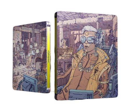 Steelbook-Cyberpunk-2077 Cyberpunk 2077 - Les éditions spéciales et collector - Préco Ouvertes dès 199.99€