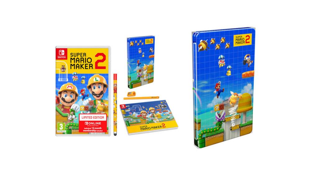 SuperMarioMaker2-Steelbook-NintendoUK-1024x576 Les sorties du mois de juin 2019