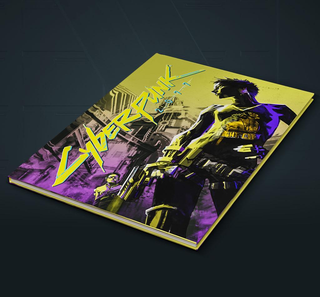 comic_book-1024x949 Cyberpunk 2077 - Les éditions spéciales et collector - Préco Ouvertes dès 199.99€