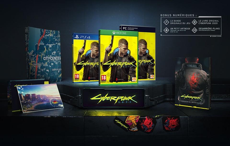 cyberpunk-2077 Cyberpunk 2077 - Les éditions spéciales et collector - Préco Ouvertes dès 199.99€