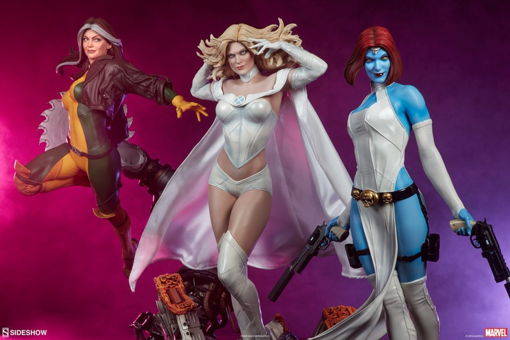 emma-frost_marvel_gallery_5ce586b11fea5-1024x683 Figurine - X-Men - Emma Frost - SideShow