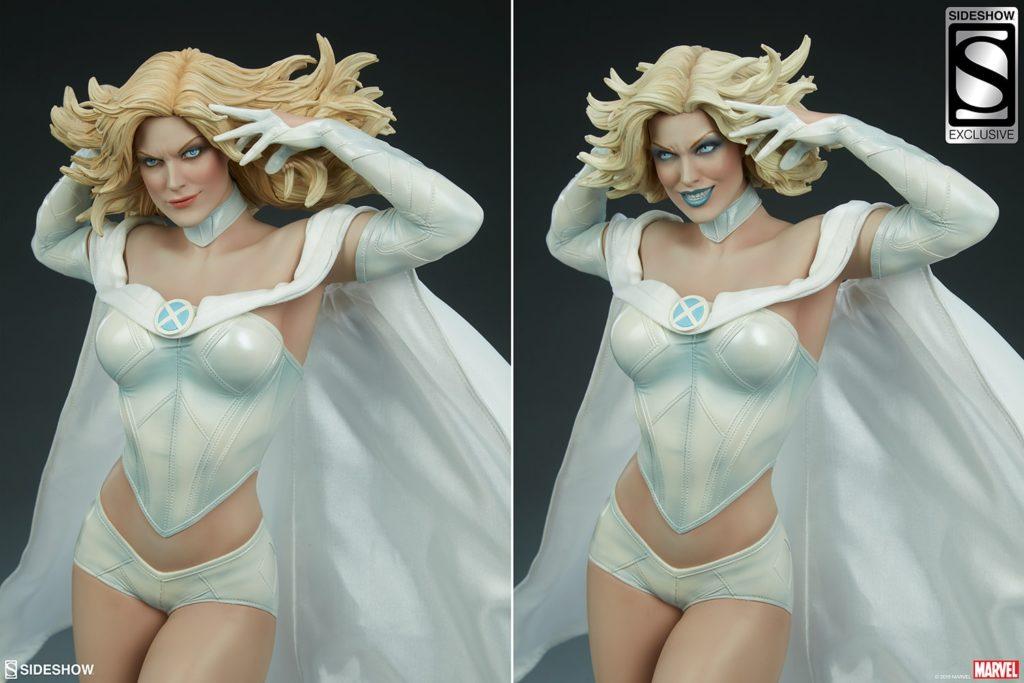 emma-frost_marvel_gallery_5ce587030bb22-1024x683 Figurine - X-Men - Emma Frost - SideShow