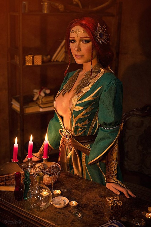 triss-witcher-cosplay-01 Cosplay - The Witcher - Triss #185