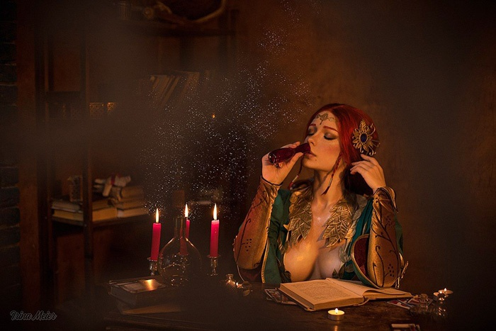 triss-witcher-cosplay-07 Cosplay - The Witcher - Triss #185