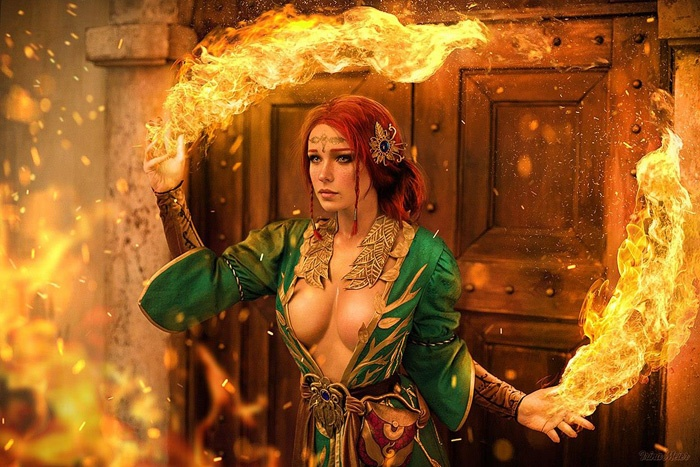 triss-witcher-cosplay-08 Cosplay - The Witcher - Triss #185