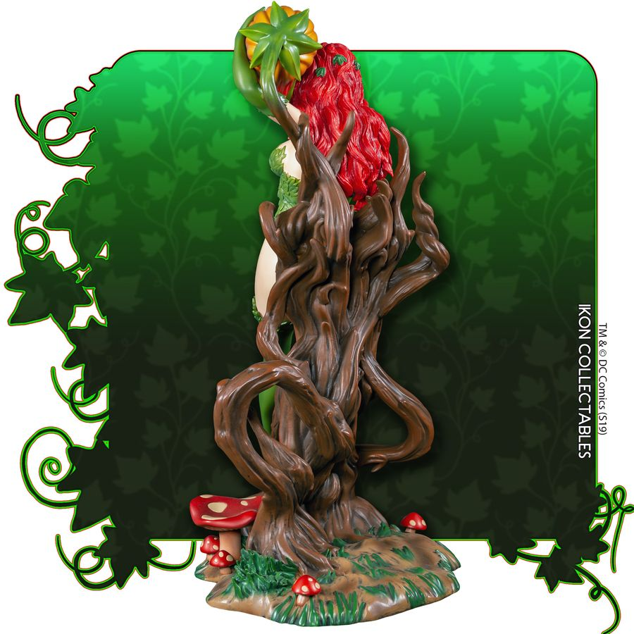 IKO1049-Poison-Ivy-Statue-4 Figurine - Poison Ivy et la fleur tueuse