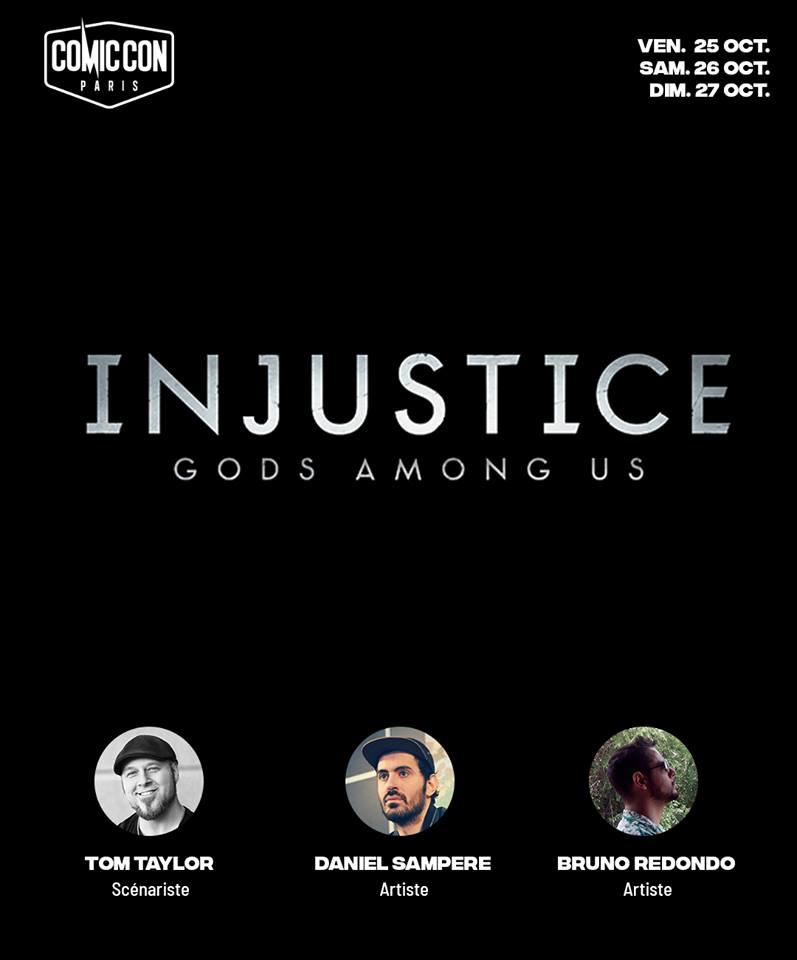 ccp-injustice Comic Con Paris 2019 - Le trio d'Injustice débarque!