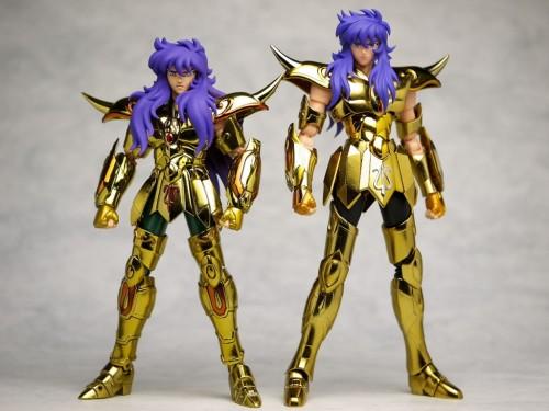 milo10 La saga des Myth Cloth - la légendaire gamme de figurines Saint Seiya de Bandai