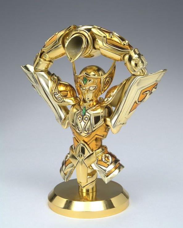myth-cloth-verseau La saga des Myth Cloth - la légendaire gamme de figurines Saint Seiya de Bandai